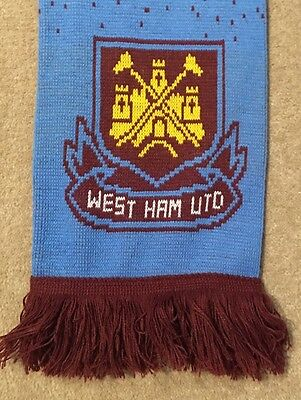 EPL Team West Ham Utd Football Soccer Scarf