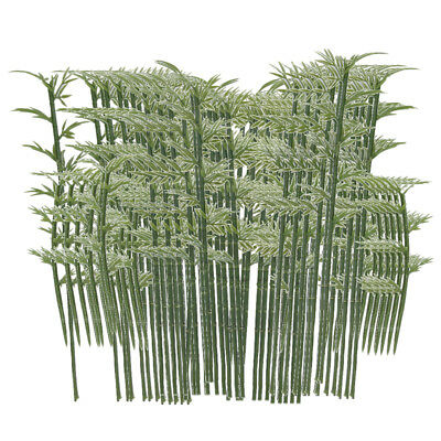 100 Bamboo Tree Model Park Garden Buildings Architecture Scene Layout 4 Size
