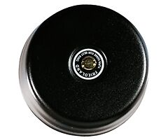 New Friedland Door Bell Doorbell Underdome Bell Black Round Chime LV 8V Sale