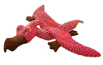 KONG DYNOS PTERODACTYL CORAL CAT TOY soft plush catnip crinkle sound toy