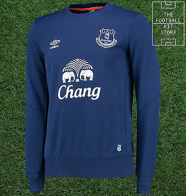 Everton Training Sweater - Official Umbro Football Sweatshirt / Top  - All Sizes