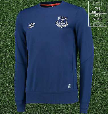 Everton Training Sweater - Official Umbro EFC Football Sweatshirt - X-Large
