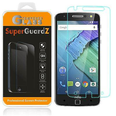 3X SuperGuardZ® Tempered Glass Screen Protector For Motorola Moto Z Force Droid