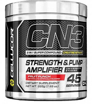 Cellucor CN3 Creatine Nitrate NO3-T Strength & Pump 45 Servings, Pre-workout C4