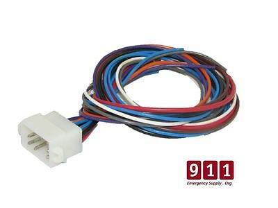 Whelen Replacement Siren Control / Power Harness Plug Cable 12 Pin Choose Length