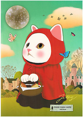 Jetoy Choo Choo A5 Friends Kawaii Notebook: Red Riding Hood
