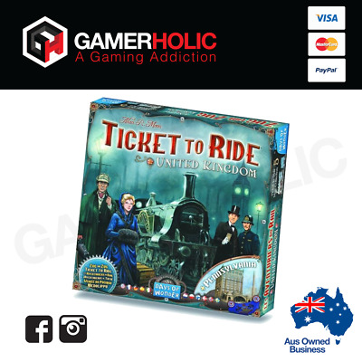 TICKET TO RIDE UK EXPANSION Family Board Game Brand New