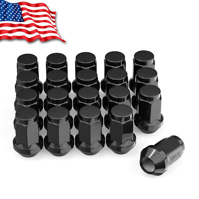 20 M12X1.5 Red 60MM Extended Tuner Racing Lug Nuts for Honda Accord Civic CR-V