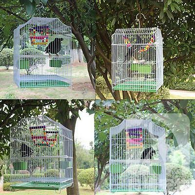 Large Metal Bird Cage Parrot Budgie Finch Macaw Canary Cockatoo Pet Lovebird