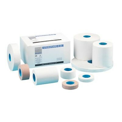 Steroplast White Zinc Oxide Tape Sport Strapping Medical Clinical ZO Injury Roll
