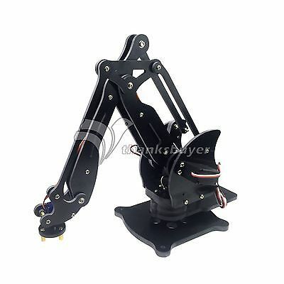 Assembled 4DOF Mechanical Robot Arm Clamp Claw Manipulator with Servo fr Arduino