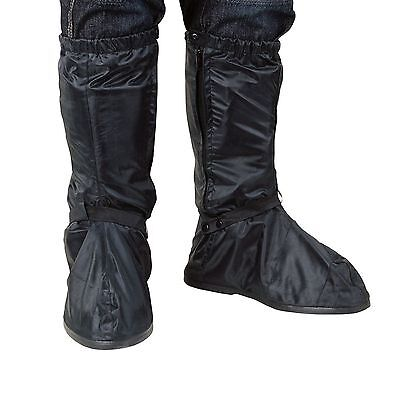 Oxford Pair Motorcycle Motorbike Waterproof Pull Over Boots New 2017