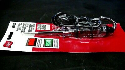 Lisle 29050 Digital Circuit Tester 3-30V for Vehicle Electrical Systems