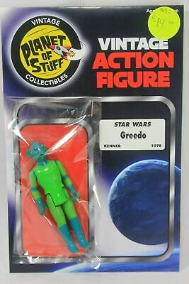 Vintage STAR WARS figure GREEDO KENNER 1978