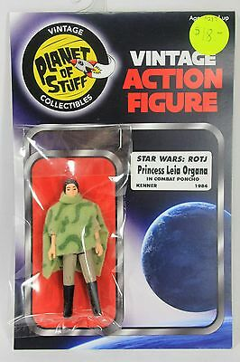 Vintage STAR WARS figure LEIA Organa poncho ROTJ Return of the Jedi KENNER 1984