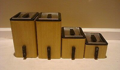 pics photos retro chef metal kitchen canisters beautiful