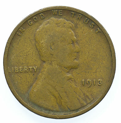 United States, Lincoln Cent, Usa, 1913