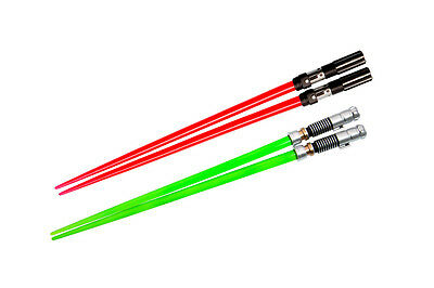 Preordine - Sw Darth Vader & Luke Battle Set Chopstick - Bacchette Star Wars