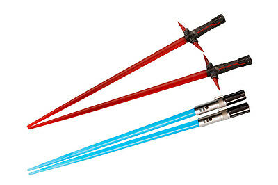 Preordine - Sw Kylo Ren & Rey Battle Set Chopsticks - Bacchette Cinesi Star Wars