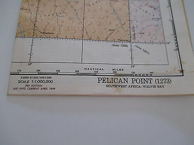 World Aeronautical Chart  (1273) Pelican Point