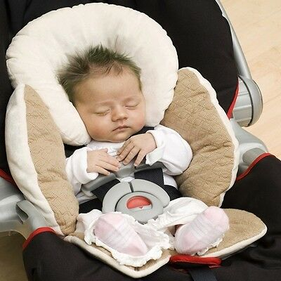 Baby Safety Car Seat Stroller Reversible Body Head Support Pillow Pad Cushion