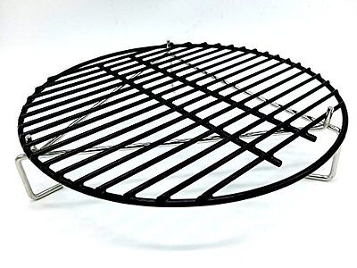 Grill Grate and Pizza Stone Elevator for MEDIUM Big Green Egg or any 15in Gri...