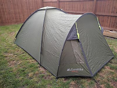 Eurohike Avon Tent 3-man Festival Weekend Tent Excellent Condition Quick Pitch & EUROHIKE AVON Tent 3-man Festival Weekend Tent Excellent Condition ...