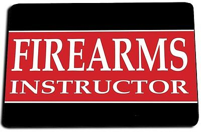 Firearms Instructor Door Mat Rug