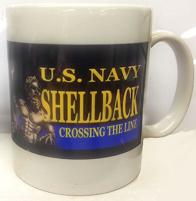 US Navy Golden Shellback 11 oz. Ceramic Coffee Mug
