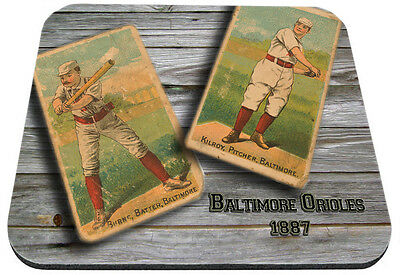 1887 Baltimore Orioles Burns Kilroy Mouse Pad