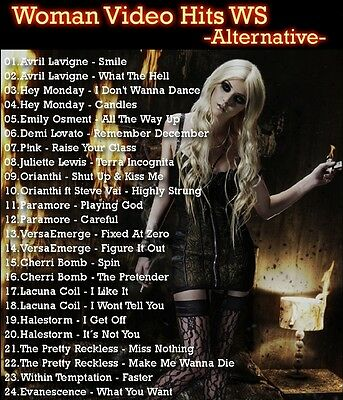 Promo Video Compilation DVD, Woman Video Hits Alternative Rock, Girls & Guitars!