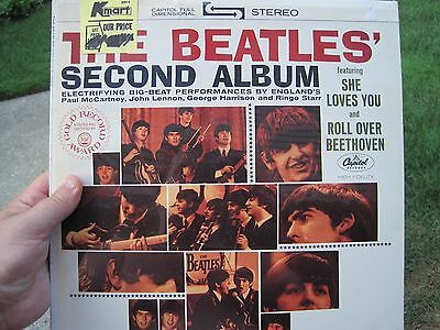 The Beatles Second Album Brand New Sealed!