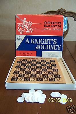 Vintage Arrco Saxon Vintage Board Game A Knights Journey Japan
