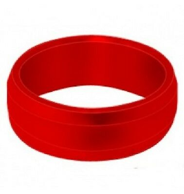 Target Slot Rings Red Pack Of 3