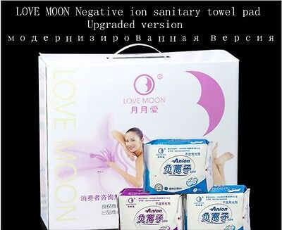 19 packages New winalite Qiray Anion Love Moon No Fluorescent Agent Anion Pad