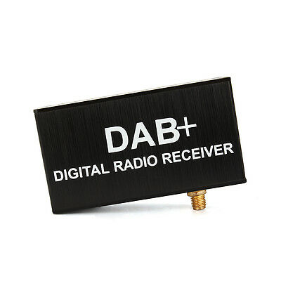 Upgraded External Europe DAB/DAB+ Digital Radio Box Audio Broadcasting Receiver