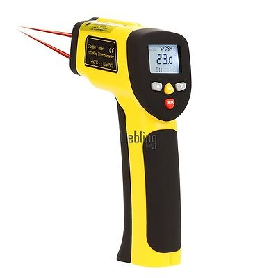 Laser Non Contact Temperature 1050°C Infrared Thermometer Pyrometer IR LEBB
