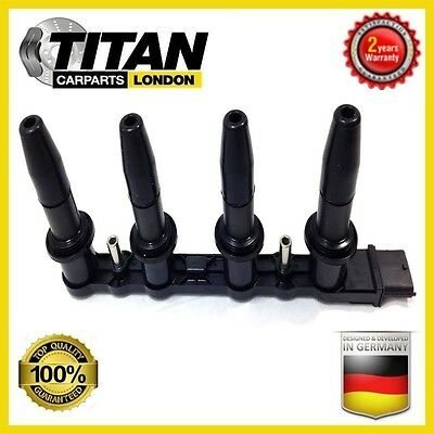 Ignition Coil For Vauxhall Zafira B 1.6 Astra H 1.6 Pack Cassette Type 10458316