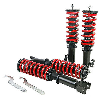 FOX Coilover Suspension Shock Damper Fits For Honda Civic Coupe EJ1 EJ2 93-95