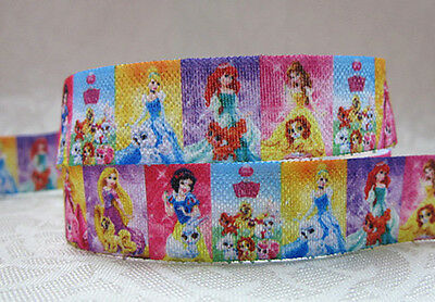 Foe 5/8 Fold Over Elastic By The Metre - Disney Palace Pets