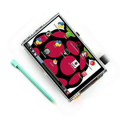 3.5 Inch TFT LCD Display Touch Screen Board For Raspberry Pi 2 Model B & RPI B+