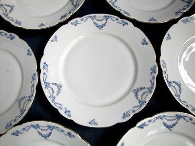 Lot d'assiettes Plates en Porcelaine