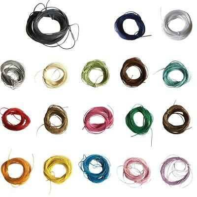 10M Waxed Nylon Beading Cord Thread Jewelry Cord String DIY Making Findings 1mm