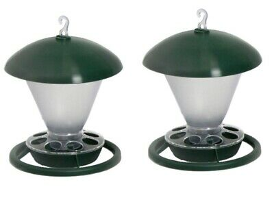 2 x 1kg Hanging Feeder For Cage/Aviary Canary/ Pigeons / Budgie/ Finch