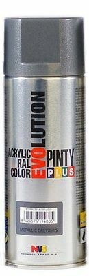 PINTURA SPRAY METALIZADA EVOLUTION 520cc GRIS ANTRACITA MT156 NOVASOL
