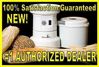 New WonderMill Grain Mill WhisperMill Whisper Wonder Electric 110V
