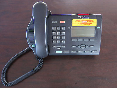 NORTEL M3903 CHARCOAL Business Multi Line Office Phone for