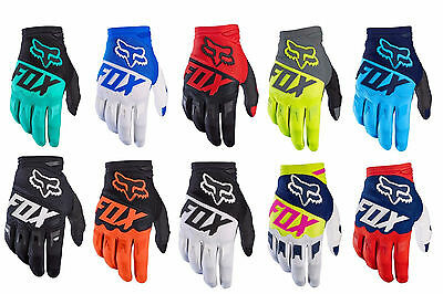 2017 Fox Racing Adult Mens MX ATV Offroad Motocross Dirtpaw Race Gloves