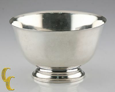 Tiffany & Co. Vintage Sterling Silver Footed Bowl #23615 Nice Condition
