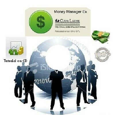 Personal Money Manager Accounting Software Budget software CD!
